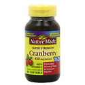 Nature Made Super Strength Cranberry 60 Softgels