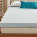 Comfort Philosophy 4'' Gel CoolFlow Memory Foam Mattress Topper from $89.99