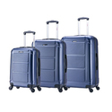 InUSA Pilot Lightweight Hardside Spinner Luggage Set (3-Piece)