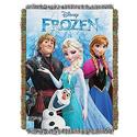 Frozen, Frozen Fun Woven Tapestry Throw