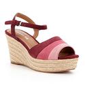 Coach Women's Farren Burgundy/Pink Shoe