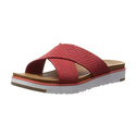 UGG Women's Kari Cayenne Leather Sandal