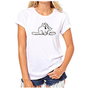 Simon's Pussy Cat Character Bowl Want Food Now Womens T-Shirt