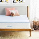 "LINENSPA 2"" Gel-Infused Memory Foam Mattress Topper from $34.99"