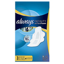 Always Infinity Pads with Wings 36 Count (Pack of 3)