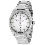 Silver Dial Men's Watch