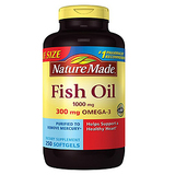 Nature Made 2659 Fish Oil 1000 Mg 250 Liquid Softgels