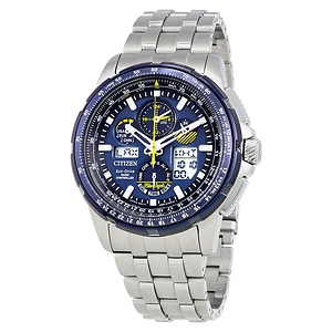 Citizen Skyhawk Blue Angels A-T Chronograph Perpetual Mens Watch