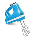 KitchenAid KHM512CL 5-Speed Ultra Power Hand Mixer - Crystal Blue