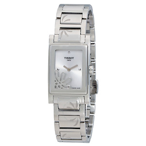 Tissot Fabulous Garden Silver Dial Ladies Watch