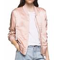 Calvin Klein Jeans Long-Sleeve Bomber Jacket
