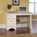 Sauder 纯白木质豪华电脑桌
