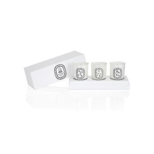Neiman Marcus: Diptyque Mini Candle Set – Baies, Figuier, & Roses