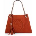 Gucci Soho Suede Shoulder Bag