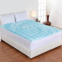 "Authentic Comfort 2"" Orthopedic 5-Zone Foam Mattress Topper"