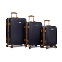 Dejuno Legion Hardside Spinner Combination-Lock Luggage Set (3-Piece)