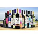 Heartwood & Oak 13 Bottles of Wine with Four govino Glasses