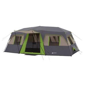 Ozark Trail 20' x 10' Green Instant Cabin, Sleeps 12