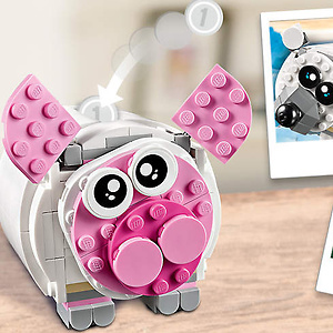 LEGO: Free Mini Piggy Bank with $75 Purchase