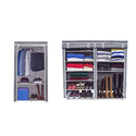 Sorbus Portable Wardrobe Closet or Shoe Organizer