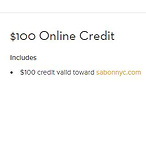 $100网上购物券