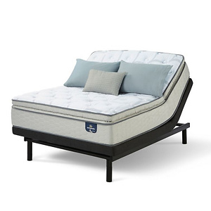 Serta Bayswater Super Pillowtop Mattress Set from $559.99