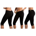 Hot Shapers Women's Thermal Slimming High-Waist Capris