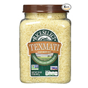 RiceSelect Texmati Light Brown Rice 32-Ounce Jars Pack of 4