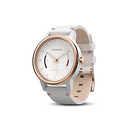 Garmin vvomove Classic Rose Gold-Tone with Leather Band