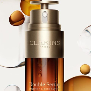 Clarins: Introducing The Next Generation Double Serum + 5-PC Gift with Purchase