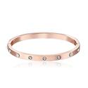 kate spade Set In Stone Rose Gold Bangle Bracelet