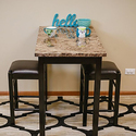 Pearington 3 Piece Tavern/Counter Height Table with Faux Marble Top