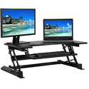 Best Choice Products Height Adjustable Standing Desk Monitor