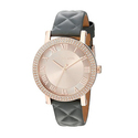 Michael Kors Women's Norie Gray Quilted Leather Strap