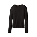 Cashmere Addiction Women's Long Sleeve Crewneck Sweater