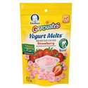Gerber Graduates Yogurt Melts Strawberry - Pack of 7