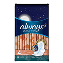 Always Ultra Thin Overnight  Pads Pack of 3
