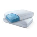 High Loft Oversized Cool-Gel Memory-Foam Pillow Set (2-Pack)