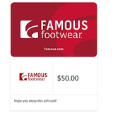 $50 Famous Footwear Gift Cards - E-mail Delivery