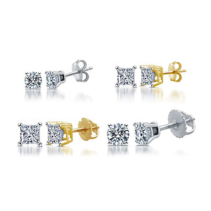 DeCarat 1/10-1.00 CTTW Certified I2-3 Diamond Studs from $72.99