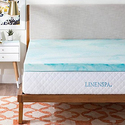 "Linenspa 3"" Gel Swirl Memory Foam Mattress Topper from $69.99"