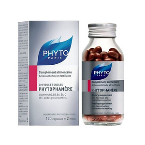 Phyto Phytophanère Hair and Nails Dietary Supplement (120-Count)