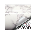 VViViD XPO White Grey Marble Gloss Vinyl Film Contact Paper