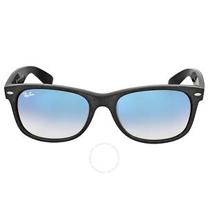 Ray-Ban Wayfarer Soft Touch Light Blue Gradient Sunglasses