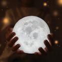 Huluwa Night Light PLDM 3D Printing Moon Lamp