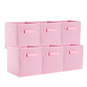 On'h Foldable Cloth Storage Cube - Pack of 6