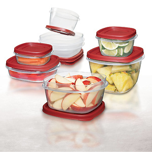 Rubbermaid Easy Find Lids Food Storage Container Set - 28pc
