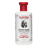 Thayer's Alcohol-Free Rose Petal Witch Hazel with Aloe Vera, 12 Fluid Ounce