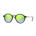 Ray-Ban Round Fleck Unisex Sunglasses