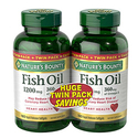 Nature's Bounty Fish Oil 1200 mg Twin Packs - 360 Softgels